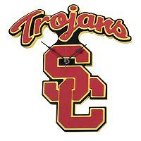 USC Trojans 3D Foam Wall Clock
