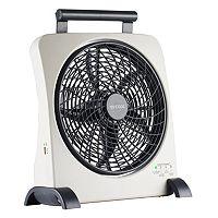 O2Cool Smart Power 10-Inch Portable Fan