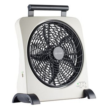 O2Cool Smart Power 10-Inch Portable Fan