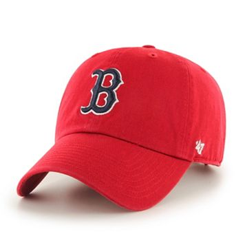 Adult '47 Brand Boston Red Sox Road Clean Up Cap