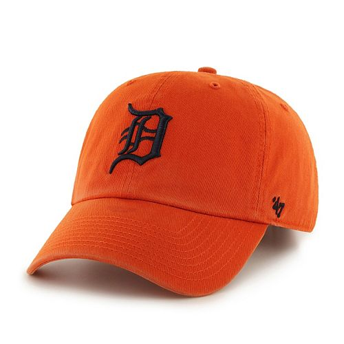 Adult '47 Brand Detroit Tigers Road Clean Up Cap