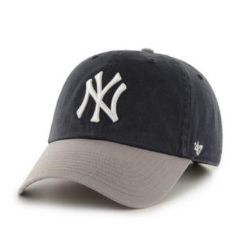 Adult '47 Brand New York Yankees Road Clean Up Cap