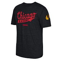 Men's CCM Chicago Blackhawks Strike First Tee