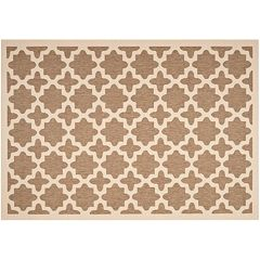 Safavieh Courtyard Fret Indoor Outdoor Rug