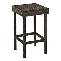 Palm Harbor Outdoor Wicker Counter Stool 2-piece Set