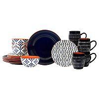 Baum Tanigers 16-pc. Dinnerware Set