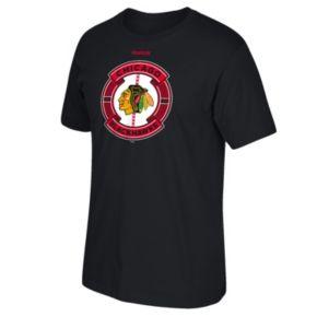 Men's Reebok Chicago Blackhawks Slick Pass Tee
