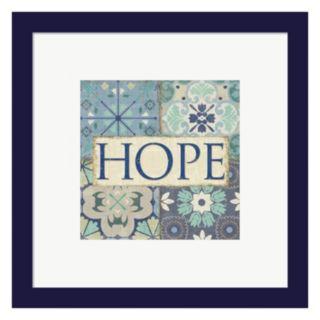 "Metaverse Art Santorini II ""Hope"" Framed Wall Art"