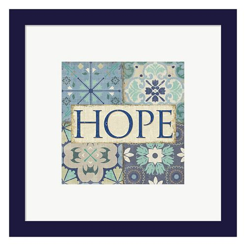"Metaverse Art Santorini II ""Hope"" Framed Wall Art"
