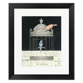 "Metaverse Art ""La Chirp"" Framed Wall Art"