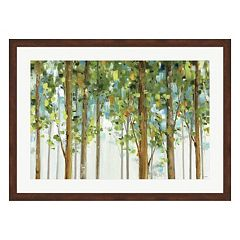 Metaverse Art Forest Study I Framed Wall Art