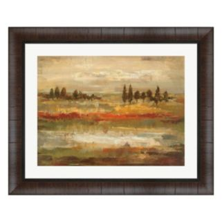 Metaverse Art Summer Fields Framed Wall Art