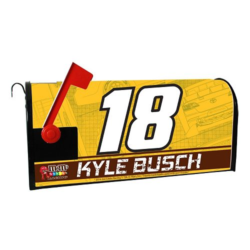 Kyle Busch Magnetic Mailbox Cover