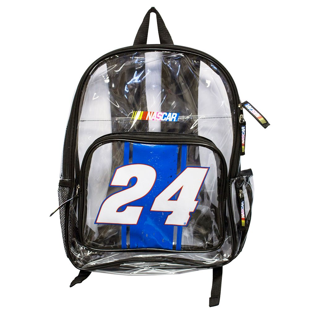 Chase Elliot Clear Backpack