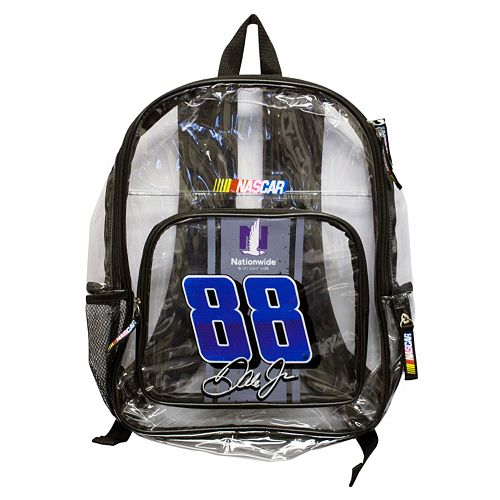 Dale Earnhardt, Jr. Clear Backpack