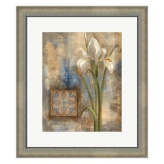 Metaverse Art Iris and Tile Framed Wall Art