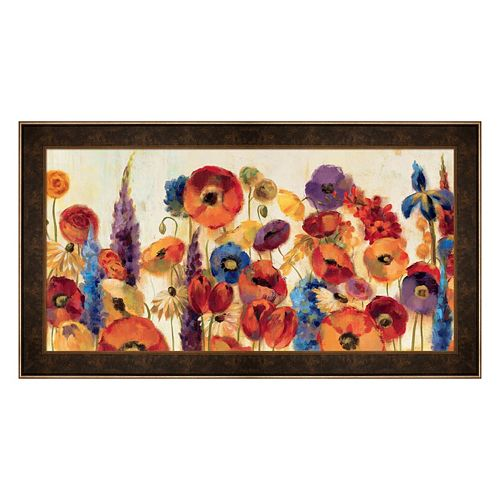 Metaverse Art Joyful Garden Framed Wall Art
