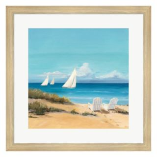 Metaverse Art Setting Sail Framed Wall Art