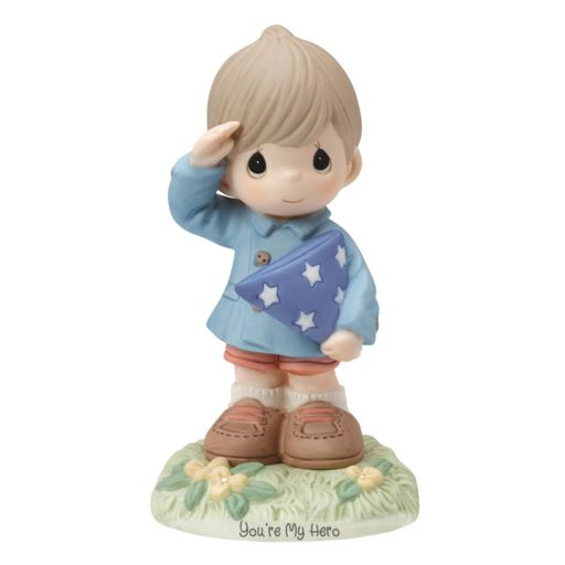 """Precious Moments Special Wishes """"You're My Hero"""" Figurine"""