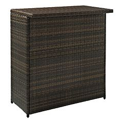 Palm Harbor Outdoor Wicker Bar