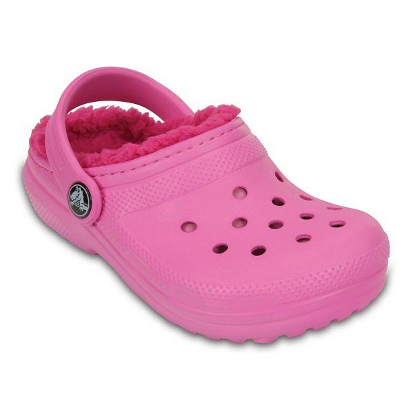 Crocs Classic Lined Girls' Clogs