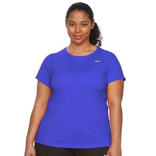 Plus Size Nike EXT Miler Dri-FIT Crewneck Running Tee