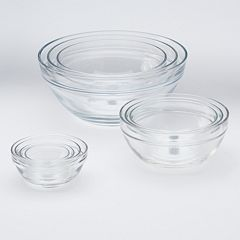 Food Network™ 10-pc. Glass Mixing Bowl Set