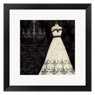 Metaverse Art French Couture II Framed Wall Art