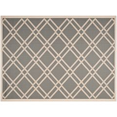 Safavieh Courtyard Lattice Indoor Outdoor Rug