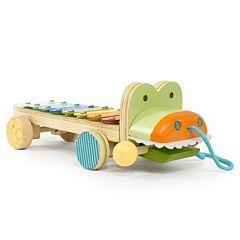Skip Hop Giraffe Safari Crocodile Xylophone Pull Toy