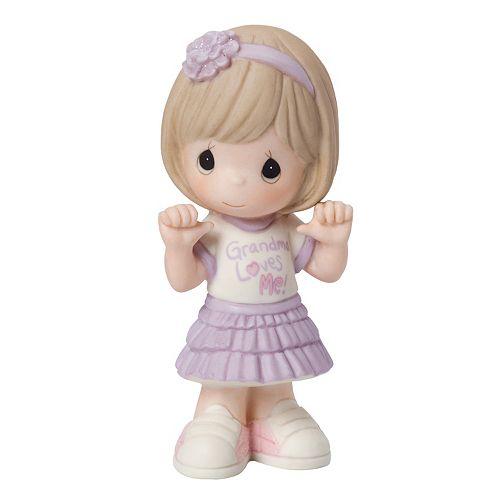 "Precious Moments ""Grandma Loves Me"" Girl Figurine"