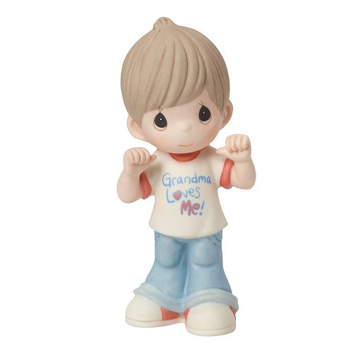"Precious Moments ""Grandma Loves Me"" Boy Figurine"