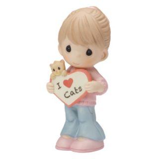 "Precious Moments Pet Friends ""I Love Cats"" Figurine"