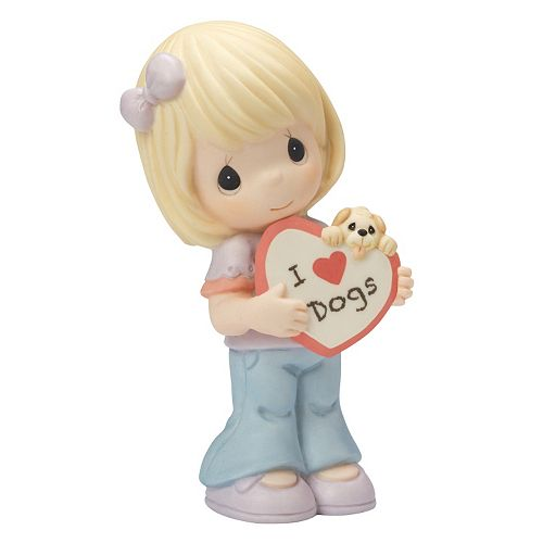 "Precious Moments Pet Friends ""I Love Dogs"" Figurine"