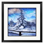 Metaverse Art My Beautiful Fir Tree Framed Wall Art