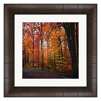 Metaverse Art Rainbow Fall Framed Wall Art