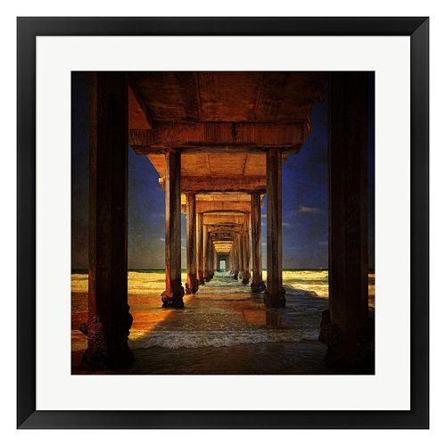 Metaverse Art San Diego Greetings Framed Wall Art