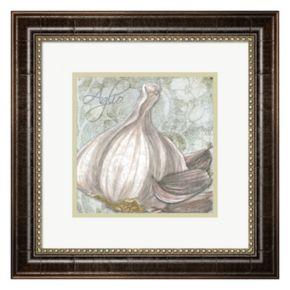 Metaverse Art Buon Appetito Garlic Framed Wall Art