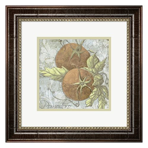 Metaverse Art Buon Appetito Tomatoes Framed Wall Art