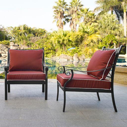 Portofino Arm Chair 2-piece Set