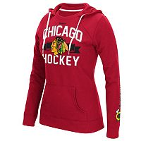 Women's Reebok Chicago Blackhawks Banner Arch Hoodie