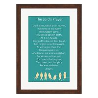 Metaverse Art The Lord's Prayer Framed Wall Art