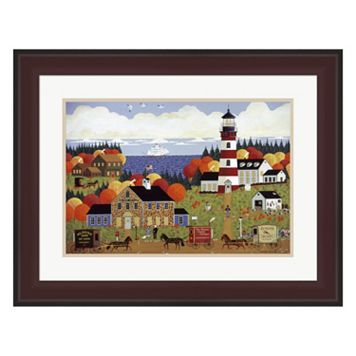 Metaverse Art Nantucket Sentinel Framed Wall Art
