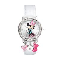Disney's Minnie Mouse Women's Crystal Charm Watch