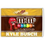 Kyle Busch Deluxe Two-Sided Flag