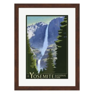 "Metaverse Art ""Yosemite"" Mountains And Trees Framed Wall Art"