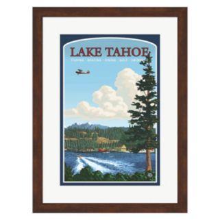 """Metaverse Art """"Lake Tahoe"""" Framed Wall Art"""