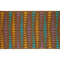 Rugs America Lenai Dots Indoor Outdoor Rug