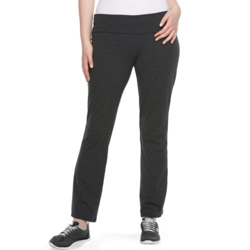 Juniors' Plus Size SO® Skinny Bootcut Yoga Pants