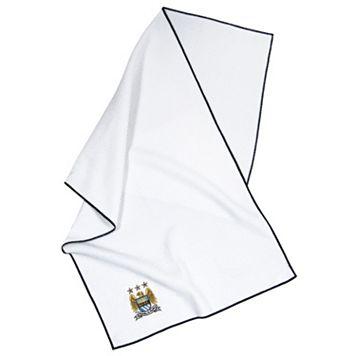 Team Effort Manchester City FC Waffle-Weave Microfiber Golf Towel